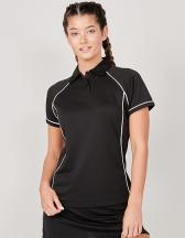 Ladies` Piped Performance Polo